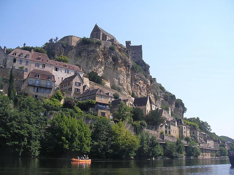 Canoë sur la Dordogne